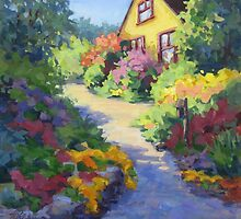 Garden Path by Karen Ilari