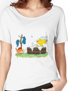Ferald's Bubble Bath Women's Relaxed Fit T-Shirt