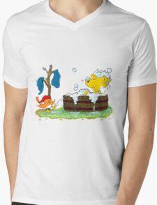 Ferald's Bubble Bath Mens V-Neck T-Shirt
