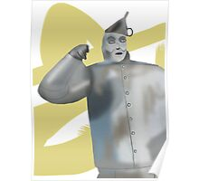 1 Tin Man in search of 1 Heart Poster