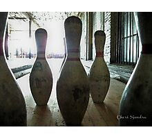 Abandoned Bowling Photographic Print