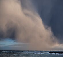 Strange Cloud Formation, Island Bay Wellington by Mark Hill