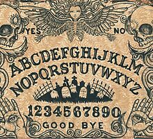 Angel of Death Ouija Board by ShayneoftheDead