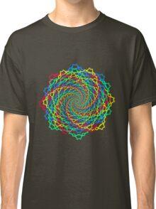 Fractal Colorful Web Classic T-Shirt