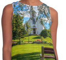 Mother of Sorrows Pioneer Shrine Contrast Tank