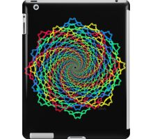Fractal Colorful Web iPad Case/Skin