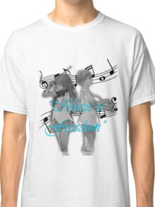 Music is Freedom Classic T-Shirt