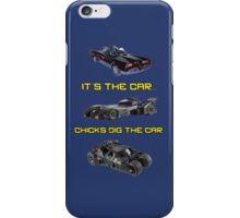 Chicks dig the car iPhone Case/Skin