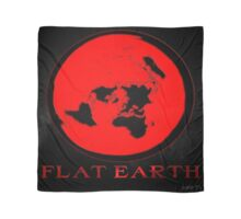 Flat Earth RED Scarf