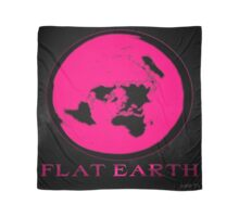 Flat Earth PINK Scarf