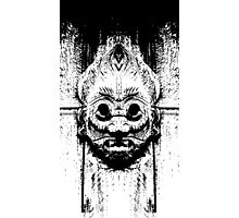 Ancient Mask Photographic Print