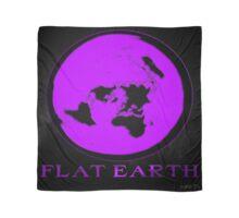 Flat Earth PURPLE Scarf