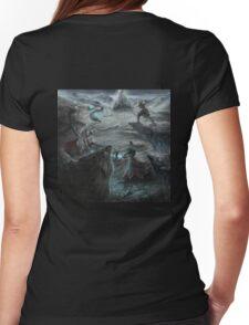Skoll and Hati avenge Fenrir Womens Fitted T-Shirt