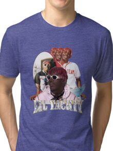 LIL YACHTY VINTAGE RAP TOUR SHIRT Tri-blend T-Shirt