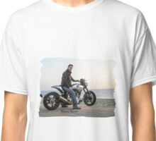 Sky is the Limit (Keanu Reeves Biker) Classic T-Shirt