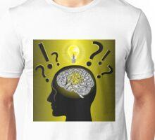 Brain idea and problem solving Unisex T-Shirt