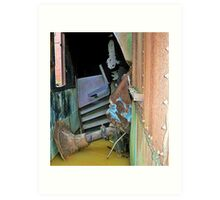 The Tetanus Pool at the House of Fans Art Print