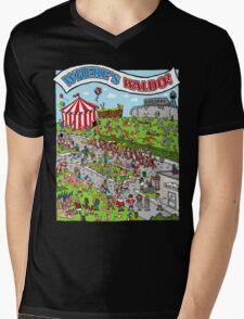 Where's Waldo Mens V-Neck T-Shirt