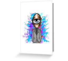 Eye see colors. Greeting Card