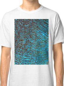 False Color Desert Sand Dunes in Saudi Arabia Satellite Image  Classic T-Shirt