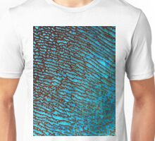 False Color Desert Sand Dunes in Saudi Arabia Satellite Image  Unisex T-Shirt