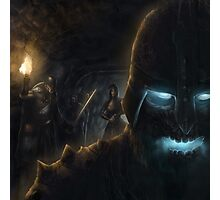 Draugr in the dungeons Photographic Print