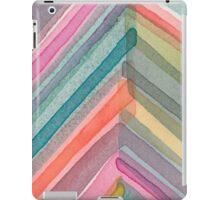Watercolor Chevron iPad Case/Skin