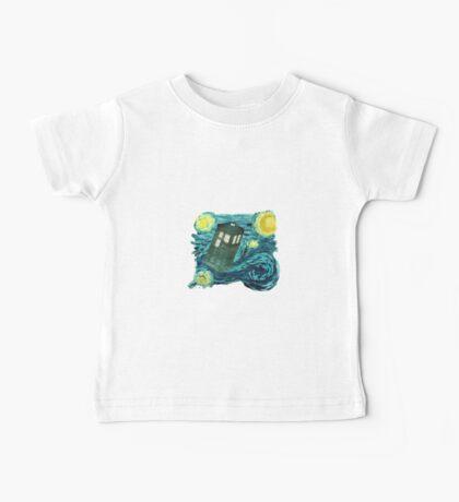 Starry Tardis Baby Tee
