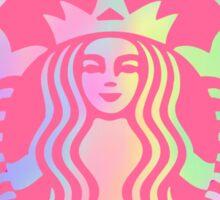 Starbucks logo revamped  Sticker