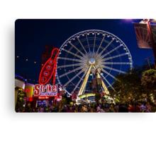 Niagara Falls Ferris Wheel Canvas Print
