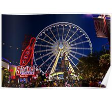 Niagara Falls Ferris Wheel Poster