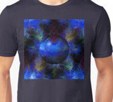 Abstract Blue Globe Unisex T-Shirt