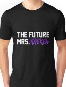 The Future Mrs. Raeken-- White Unisex T-Shirt