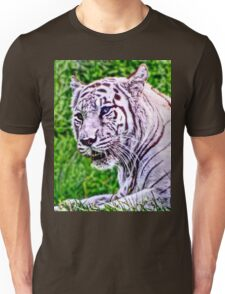 White Bengal Tiger Unisex T-Shirt