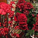 Scarlet Sensation - Winter Flowers and Berries by BlueMoonRose
