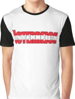Austria Osterreich Flag  Graphic T-Shirt