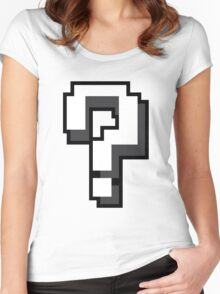 Mario? Women's Fitted Scoop T-Shirt