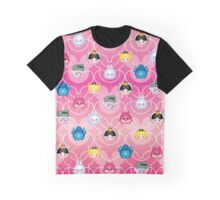 Tsum Tsum Alice in Wonderland - Pink Graphic T-Shirt