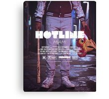 Hotline Miami: The Movie Canvas Print