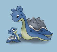 Lapras Pokemon Mother & Child Kids Tee