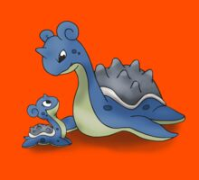 Lapras Pokemon Mother & Child Kids Clothes