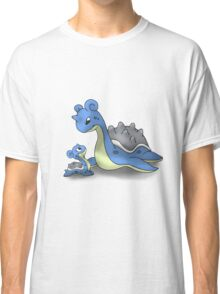 Lapras Pokemon Mother & Child Classic T-Shirt