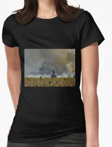 Silos and Shimmering Heat Womens Fitted T-Shirt