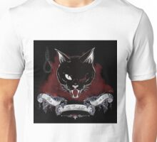 The black cat - Pluto Unisex T-Shirt