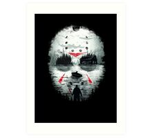 Friday Night Terror Art Print