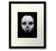 Friday Night Terror Framed Print