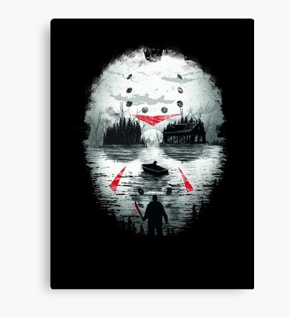 Friday Night Terror Canvas Print