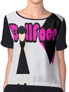 """DollFace"" Chiffon Top"