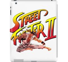 Ryu Flying Kick iPad Case/Skin