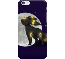 Umbreon with the Moon Pokemon iPhone Case/Skin